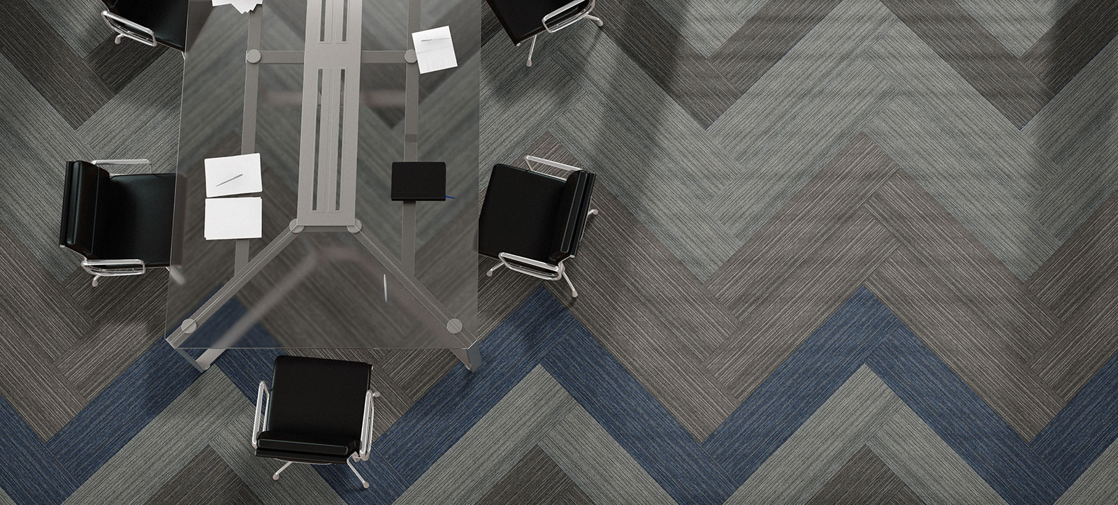 Carpete em Placas